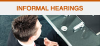 Informal Hearings