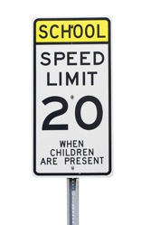Speeding in a School Zone